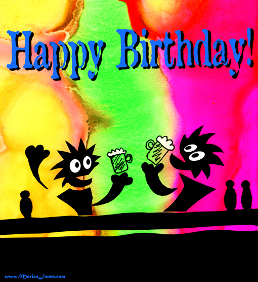 Images for happy birthday greetings card