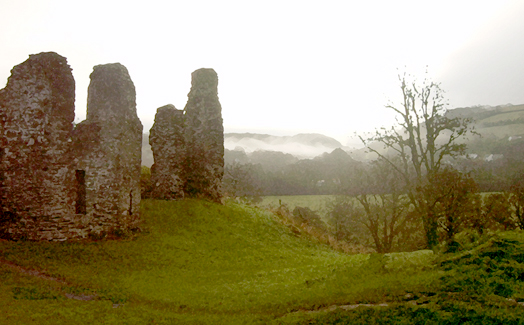 Morning Castle, Newcastle Emlyn